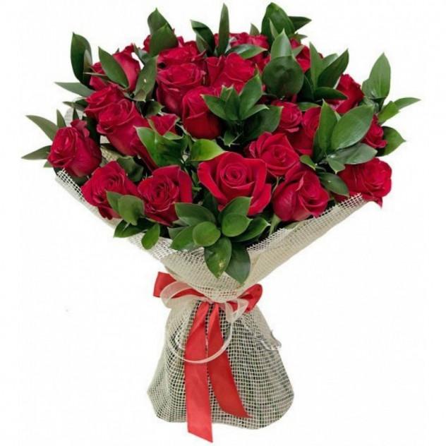 Букет из красных роз № 5